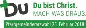Logo Pfarrgemeinderatswahl 2018